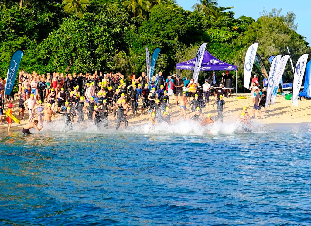 Quicksilver Reef Swim - Green Island, Ironman Cairns