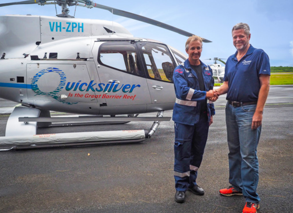 Nautilus Aviation and Quicksilver Group welcome two new H130 to fleet