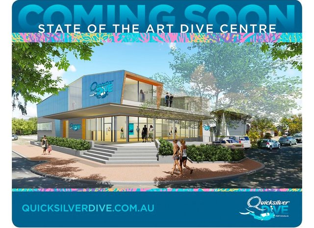 Quicksilver Dive Centre construction powering ahead