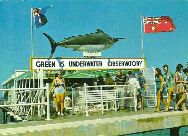 Green Island Underwater Observatory - farewell to a slice of tourism history