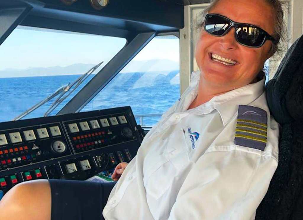 Girl Power! Amanda Matthies, first female Great Adventures skipper