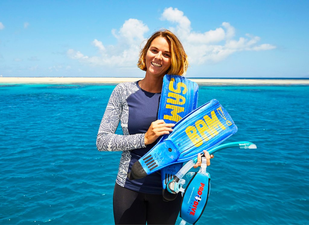 Ocean Spirit Marine Biologist is the QLD face of the new Tourism Australia Global Campaign!
